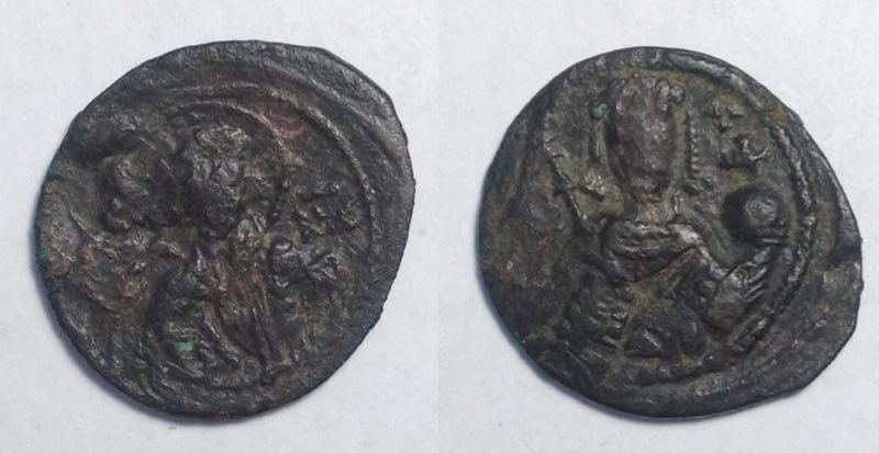 Coins: Ancient Reasonable Anonymous Byzantine Coin Ae Follis Constantine X Constantinople 1059-1067 Ad