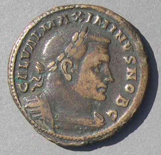Qualified Gal Val Maximinus Ancient Coins