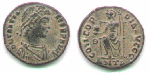 Gratian, Antioch